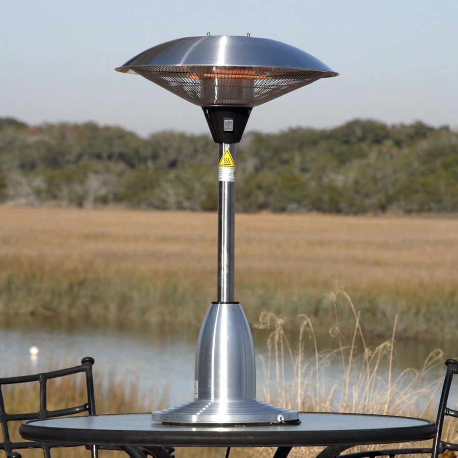 Our Stainless Steel Table Top Round Halogen Patio Heater Introduces A New Revolution In Outdoor Heating Stainless Steel Table Top Gas Patio Heater Patio Heater