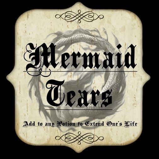 Showing Gallery For Potion Labels Mermaid Tears