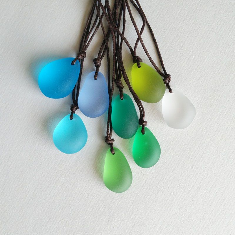 Dm so beautiful aqua genuine sea glass pendant necklace colgante dm so beautiful aqua genuine sea glass pendant necklace colgante beach jewelry sea foam natural stone aloadofball Images