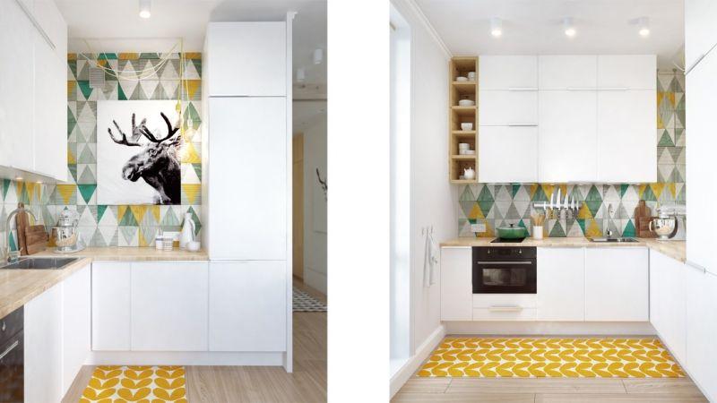 Kleine Küchen einrichten \u2013 Tipps und Ideen zum Grundriss Μικρά - Kleine Küche Einrichten Tipps