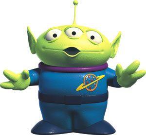 extraterrestre histoire de jouet