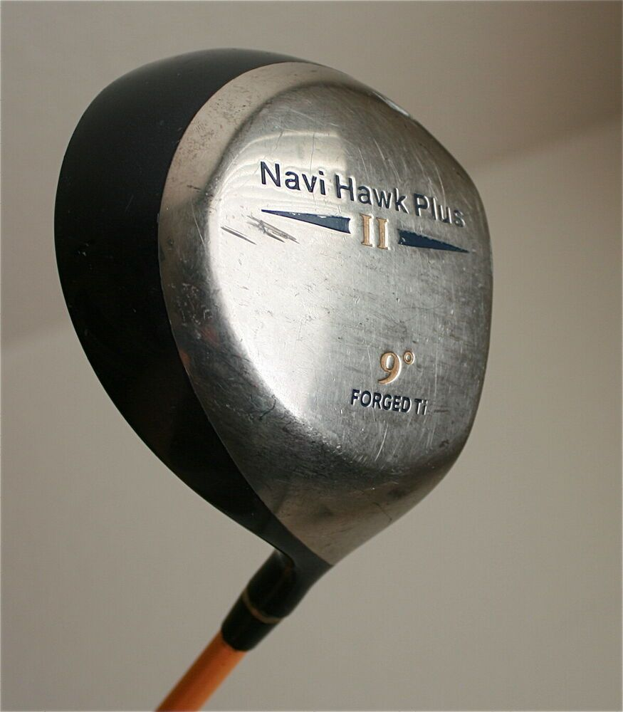 Details about NAVI HAWK PLUS II DRIVER 9 DEGREE Ti
