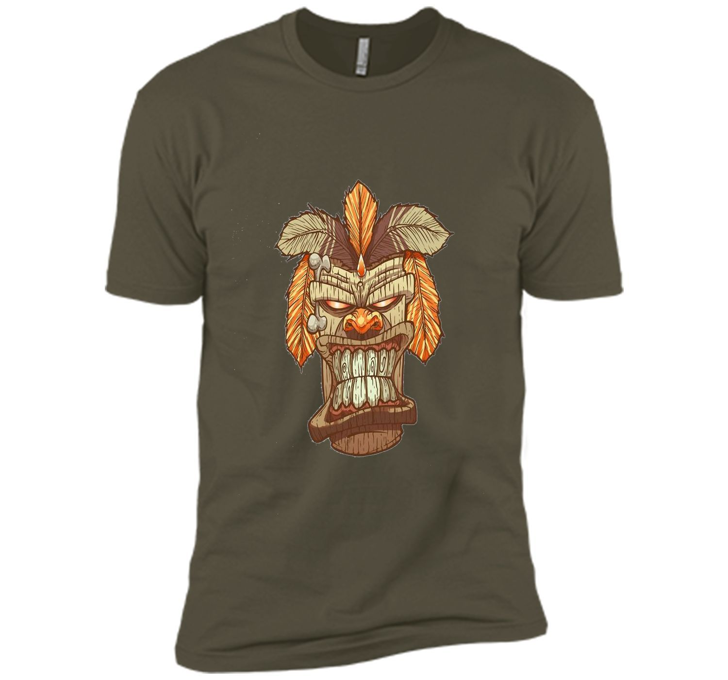 Tiki God Mask T-Shirt, Mask Shirt for Man, Woman, Children