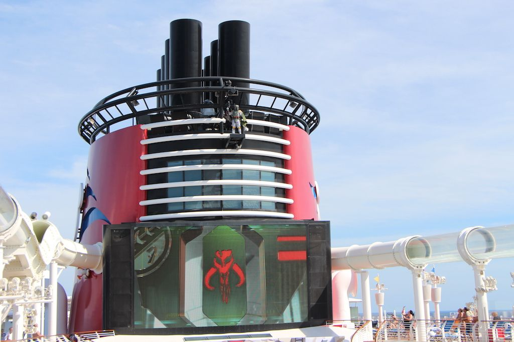 Disney cruise review star wars day at sea part 2