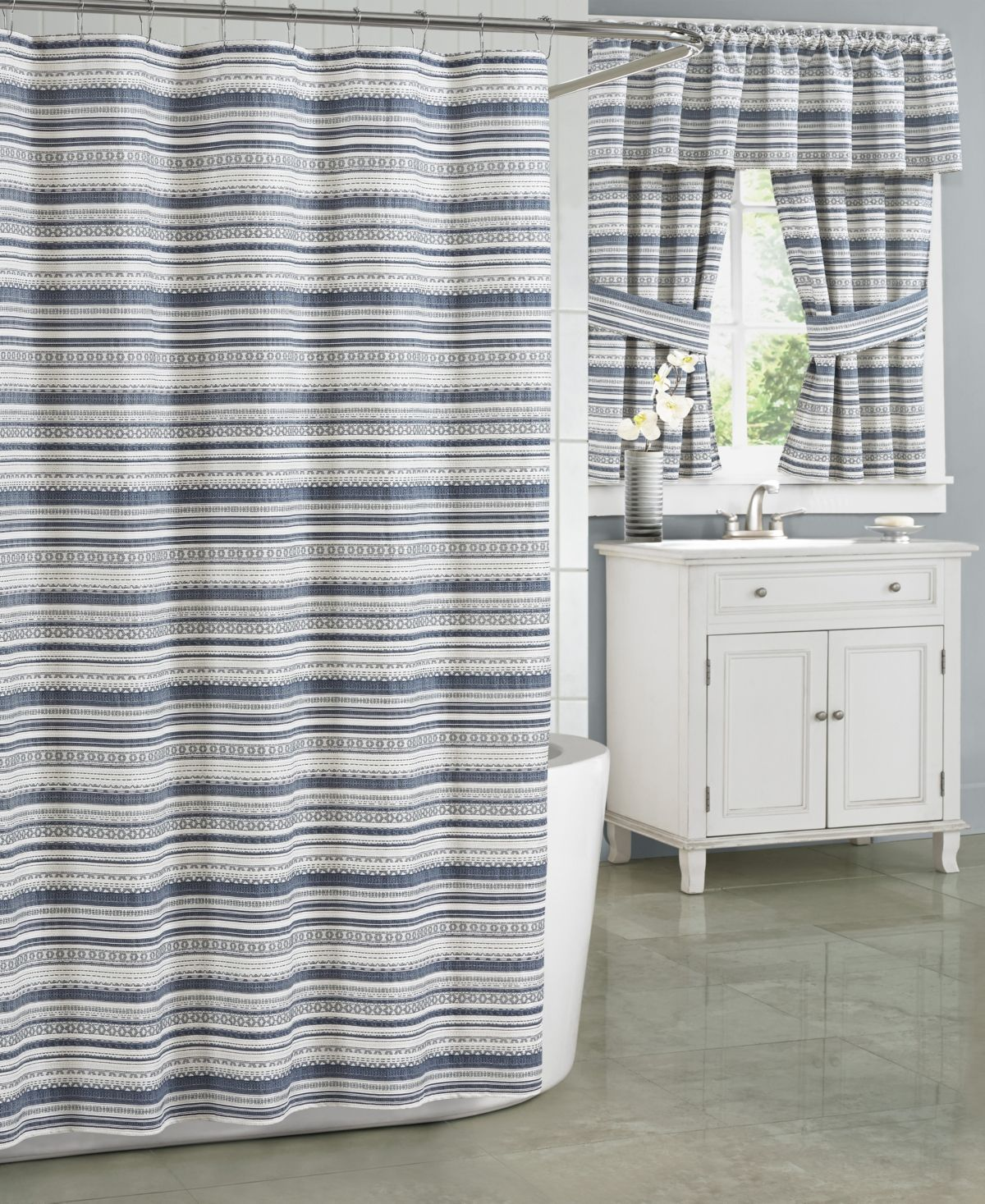 J Queen New York Aedan Shower Curtain Collection Reviews