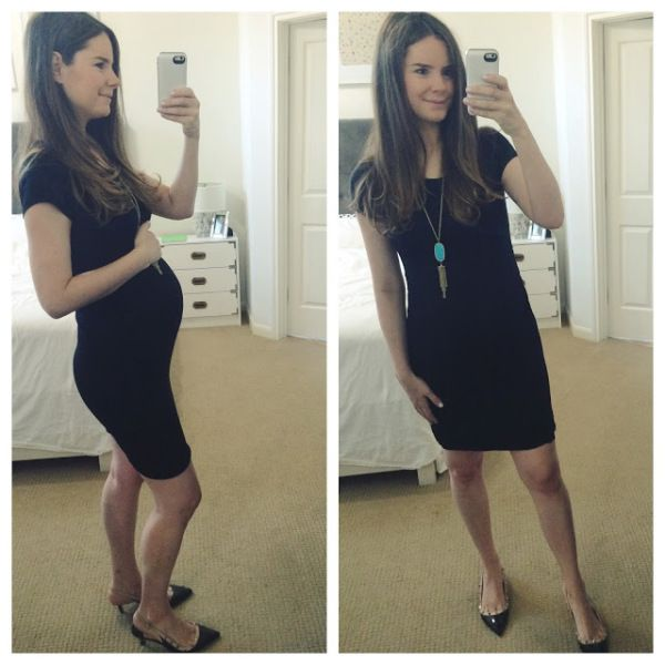 bafc10bf689 StitchFix Maternity  Review  2 - Veronika s Blushing- love this dress even  though I m not pregnant!