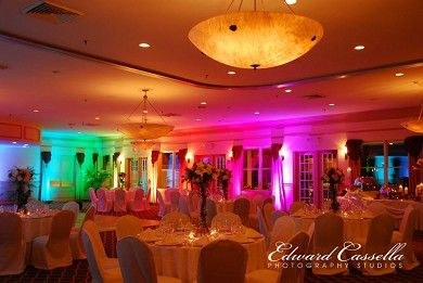 Beautiful Confetti Party Hall