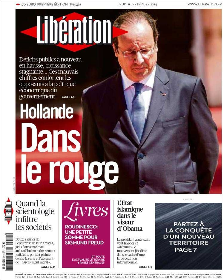 Libération - Jeudi 11 Septembre 2014 - N° 10363