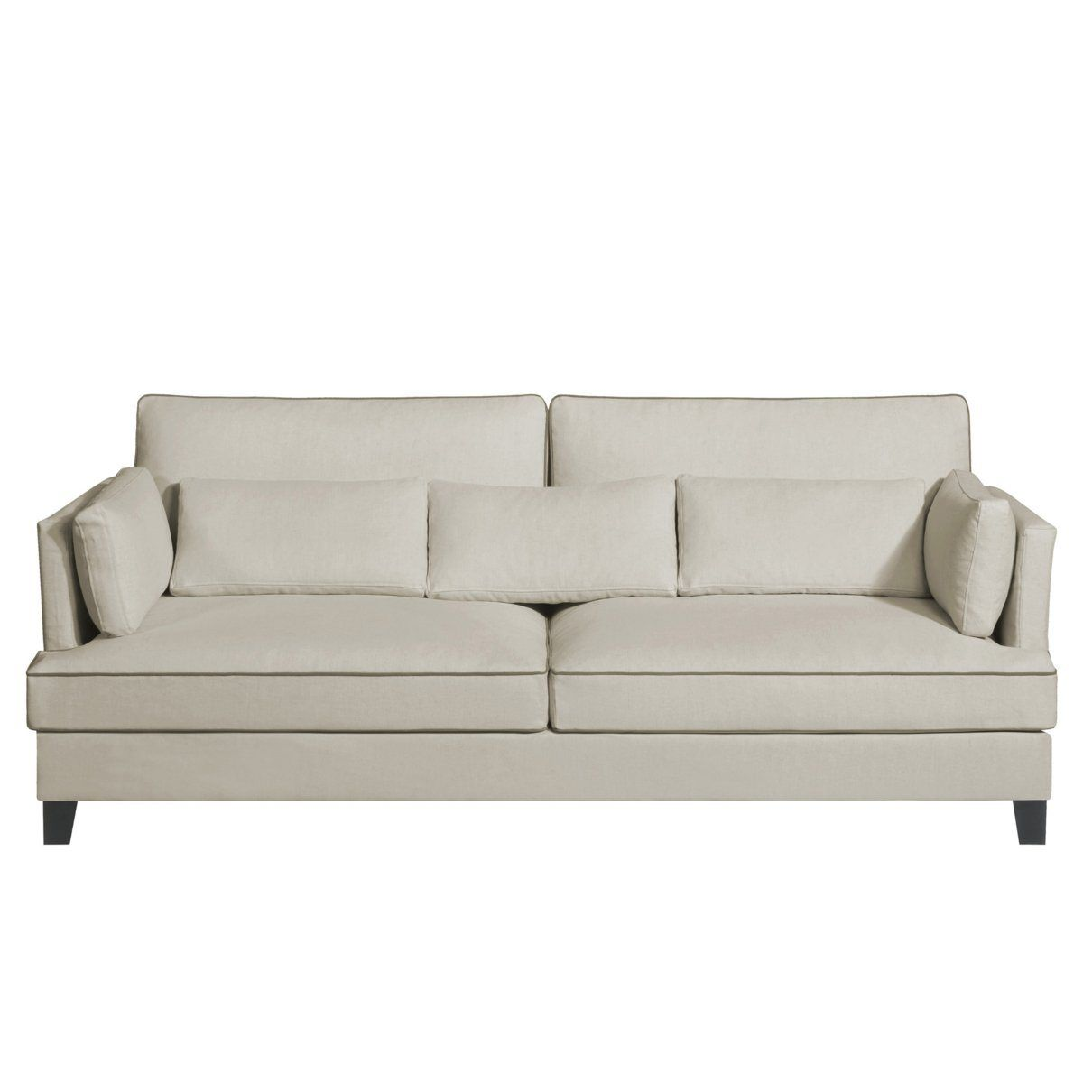 Couche En Coton Canapé Sacha Coton Lin Am Pm Fractional Sofa Couch Furniture