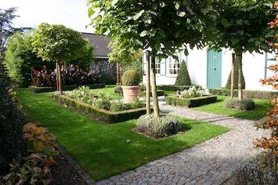 Klassiek romantische tuin i my garden pinterest tuin en tuinontwerp - Aangelegde tuin ideeen ...