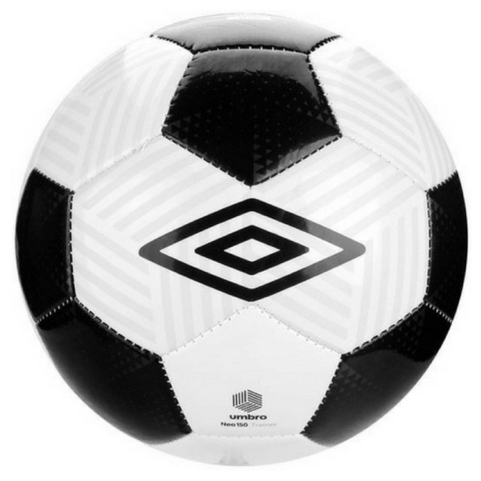 Bola Futebol Campo Umbro Neo Cvn Branca E Preta Preto E Branco