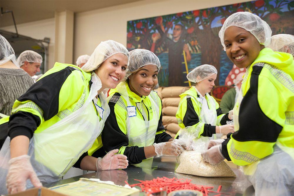 Volunteer Opportunities Food bank volunteer, Oregon food