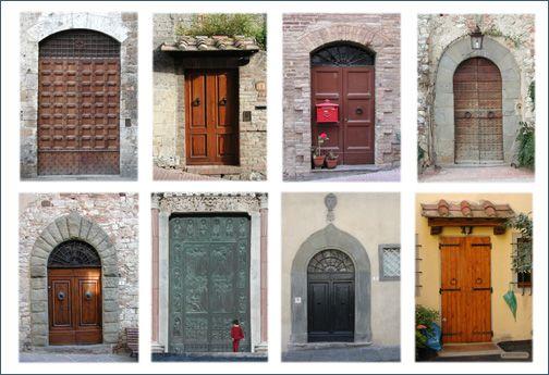 Doors Of Tuscany Doors Doors Doors Gates And The Odd Window