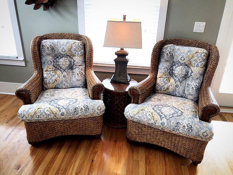 Custom Cushions By Garden Street Fabrics Pensacola Miramar Fl Custom Cushions Custom Slipcovers Home Decor