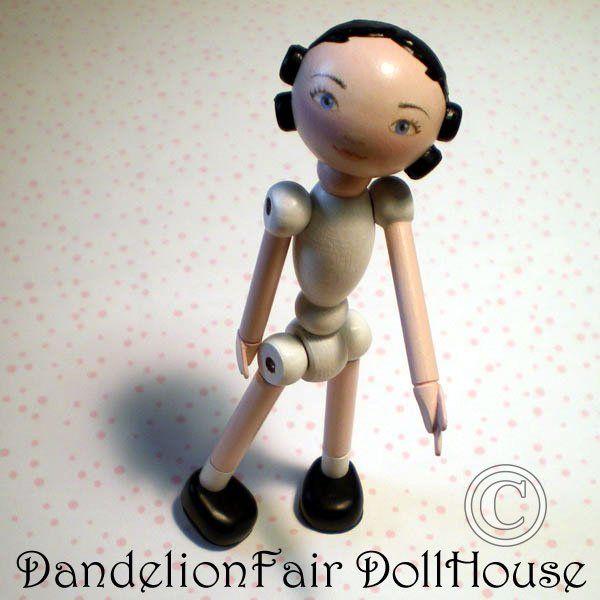 DandelionFair - Beadelia Anatomy | Peg wooden doll, Cute ...