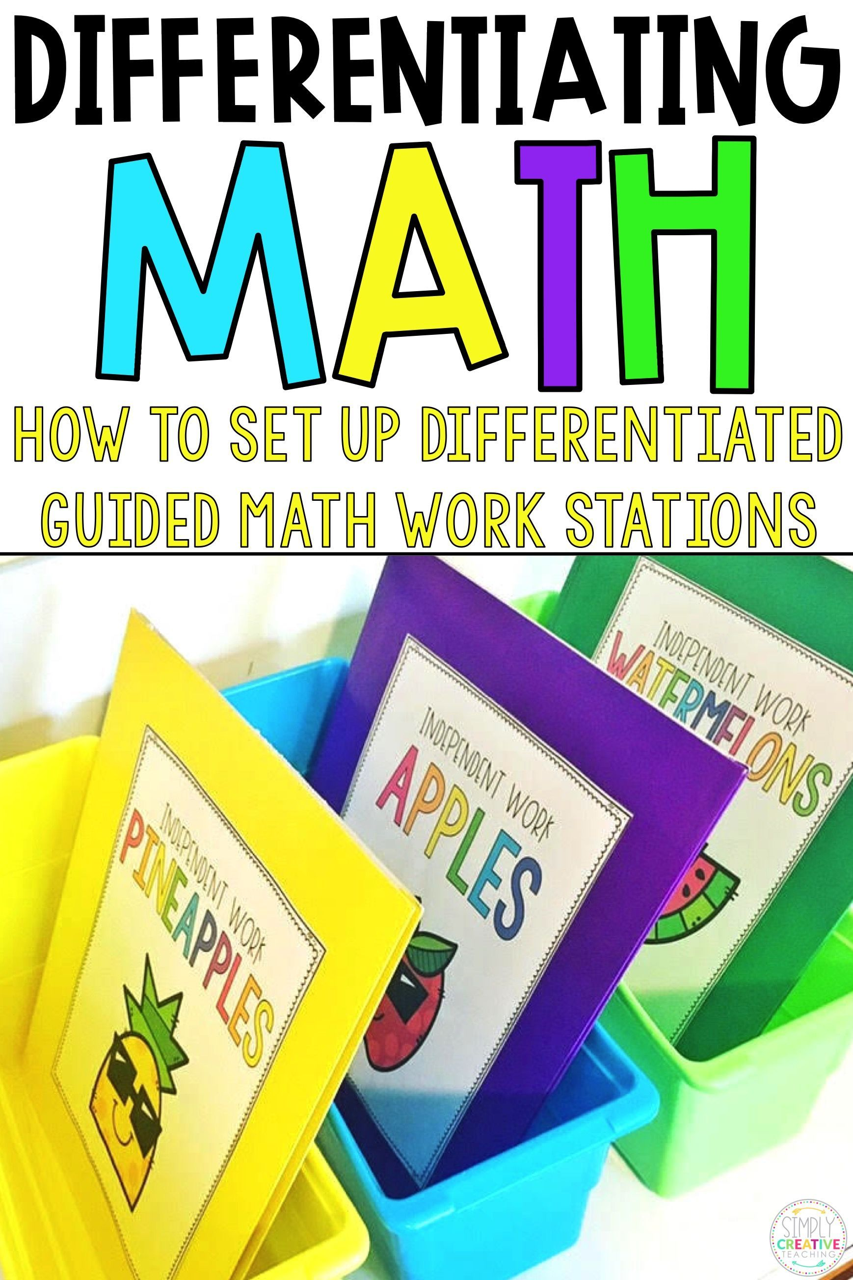 Learn How To Set Up Your Guided Math At Your Seat Rotation