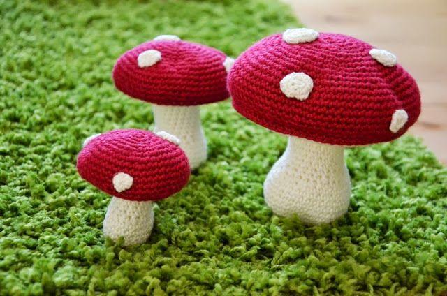 DIY: Hæklede svampe LILLE