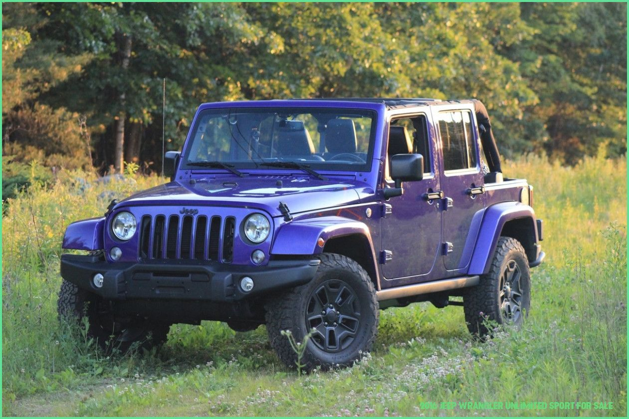 9 Benefits Of 9 Jeep Wrangler Unlimited Sport For Sale
