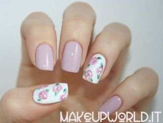 Rose Nail Art #nail #nails  #beauty #nailpolish #nailart #makeup #nailmania #hands
