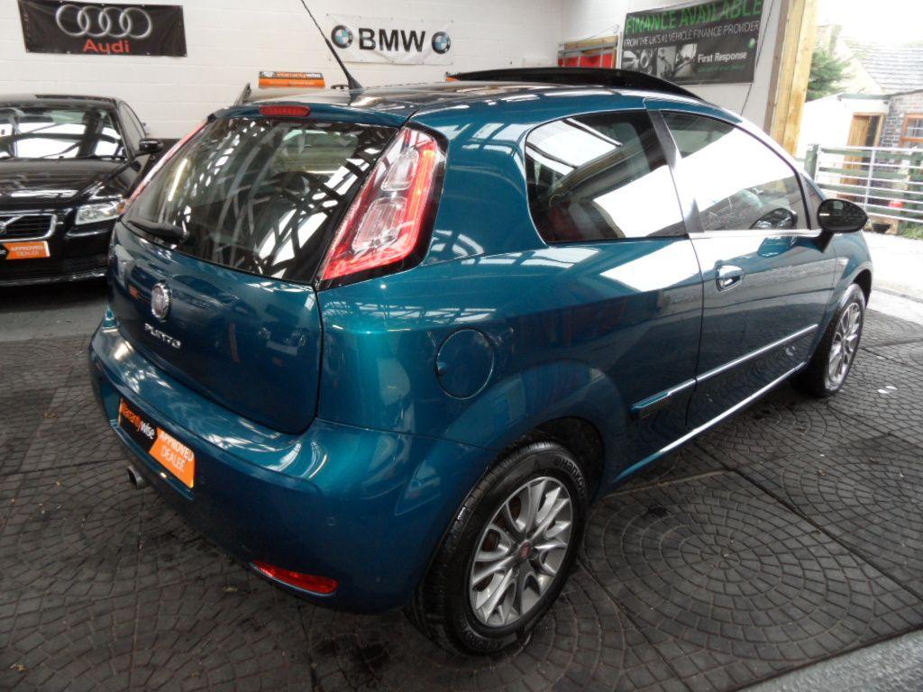 2020 Fiat Punto Exterior