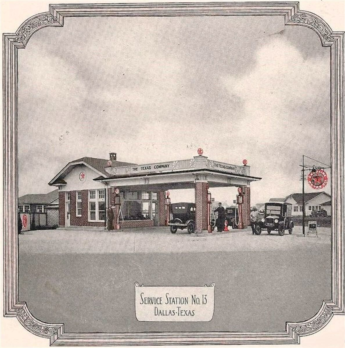 13 known as Texaco this service station