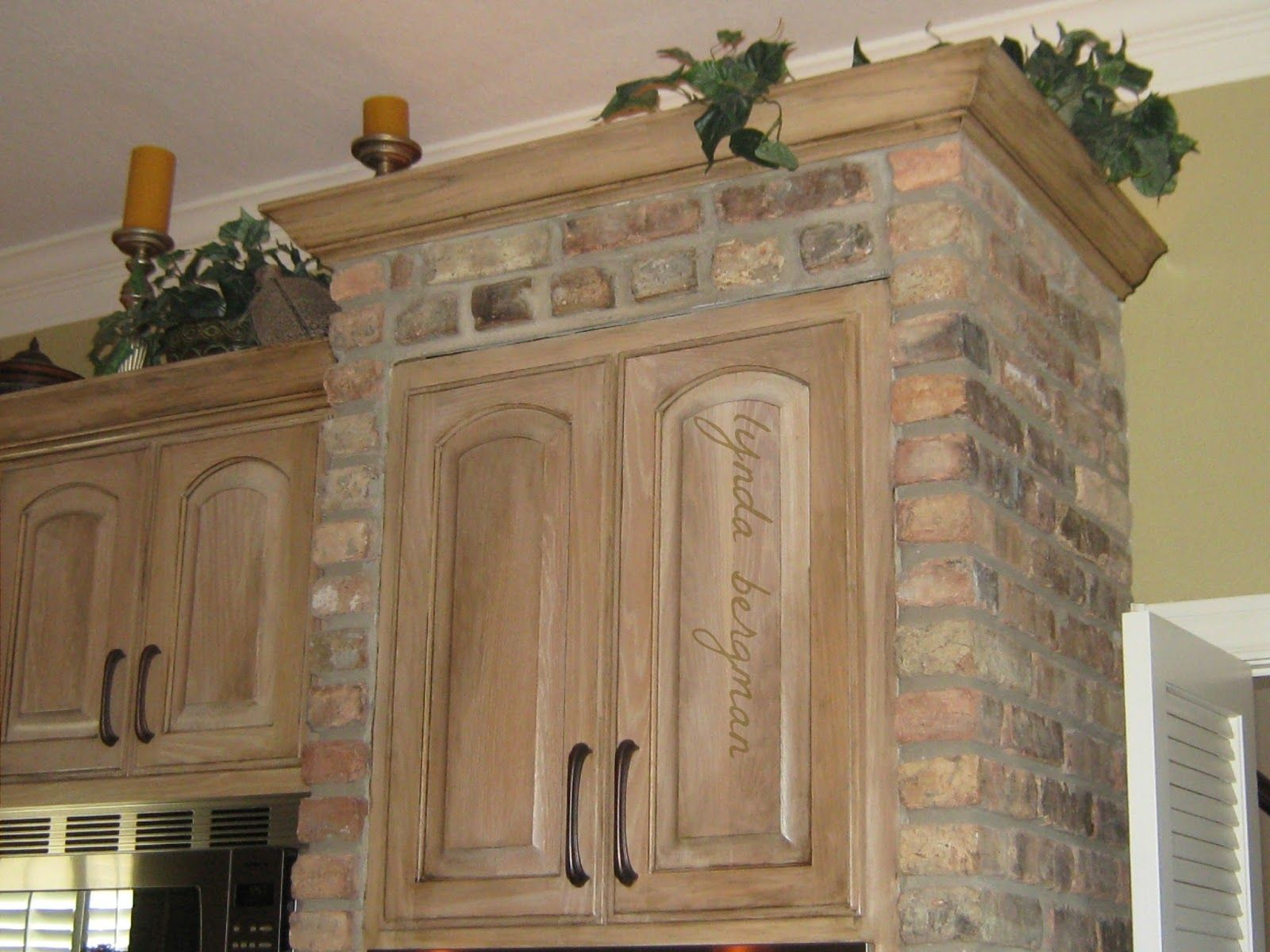Cabinets that painted for her and better with kitchen white pantry
