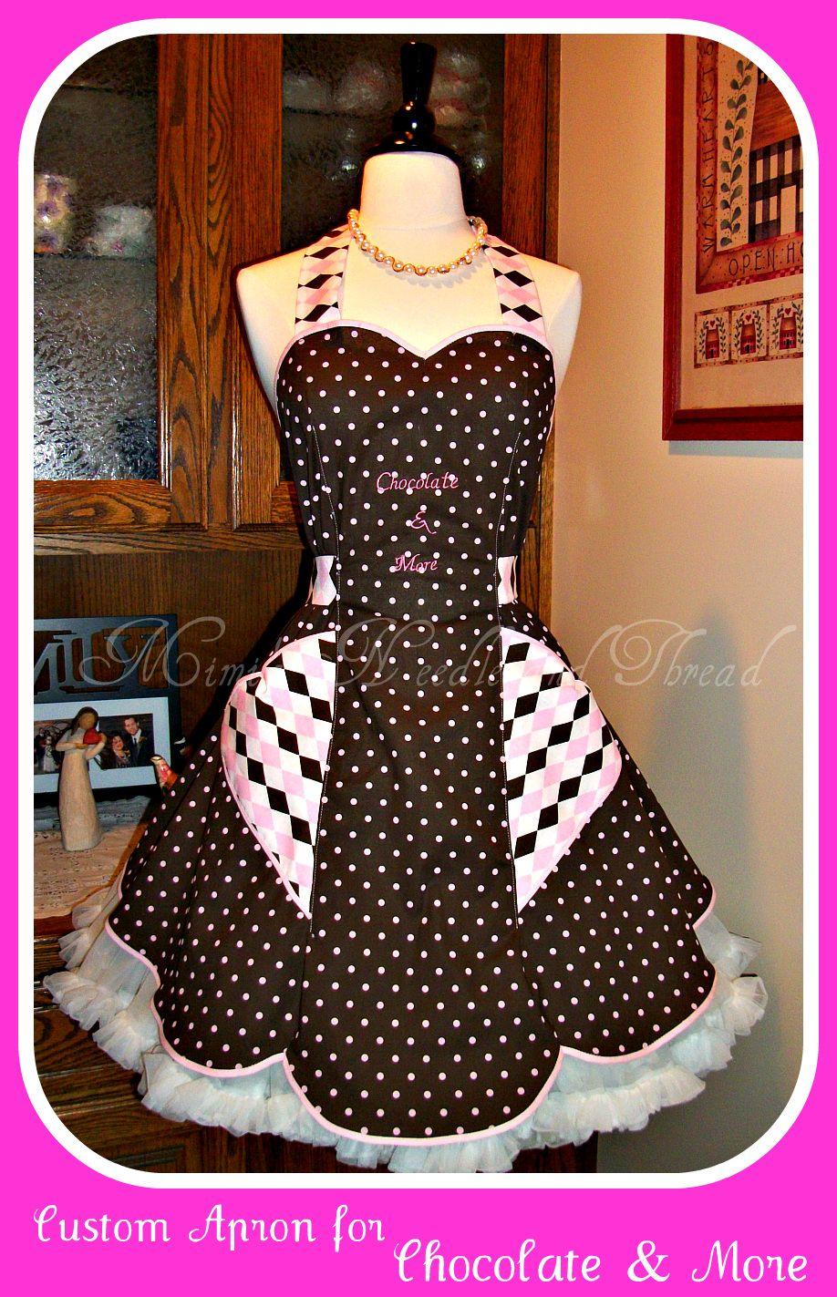 apron made by mimisneedle@yahoo.com | retro aprons | Pinterest ...