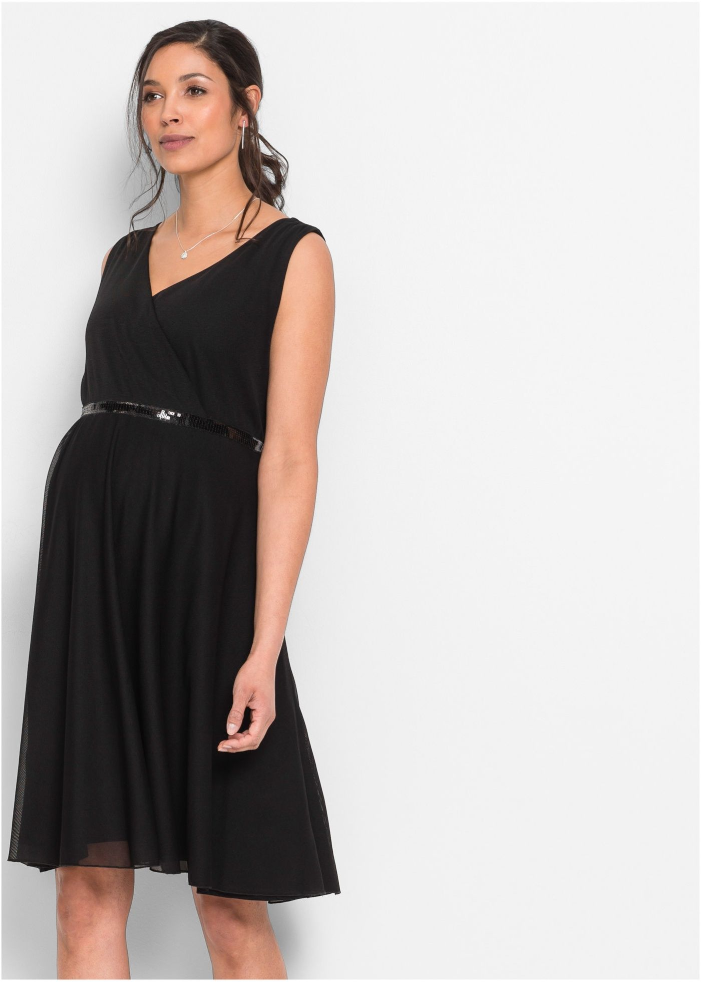 gemütlich frisch begrenzter Verkauf Shop für echte Umstandskleid / Stillkleid schwarz - bpc bonprix collection ...