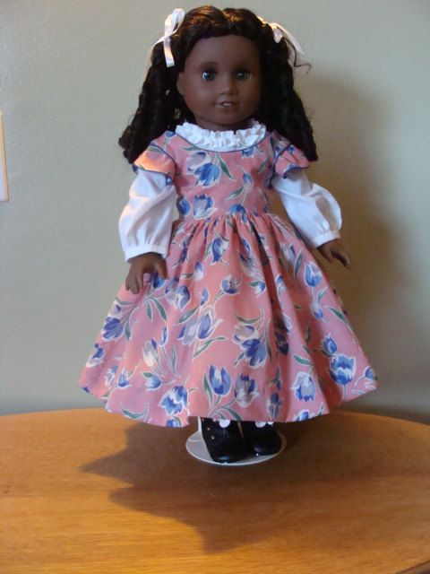 Civil War style outfit for 18 inch doll. $35.00, via Etsy.
