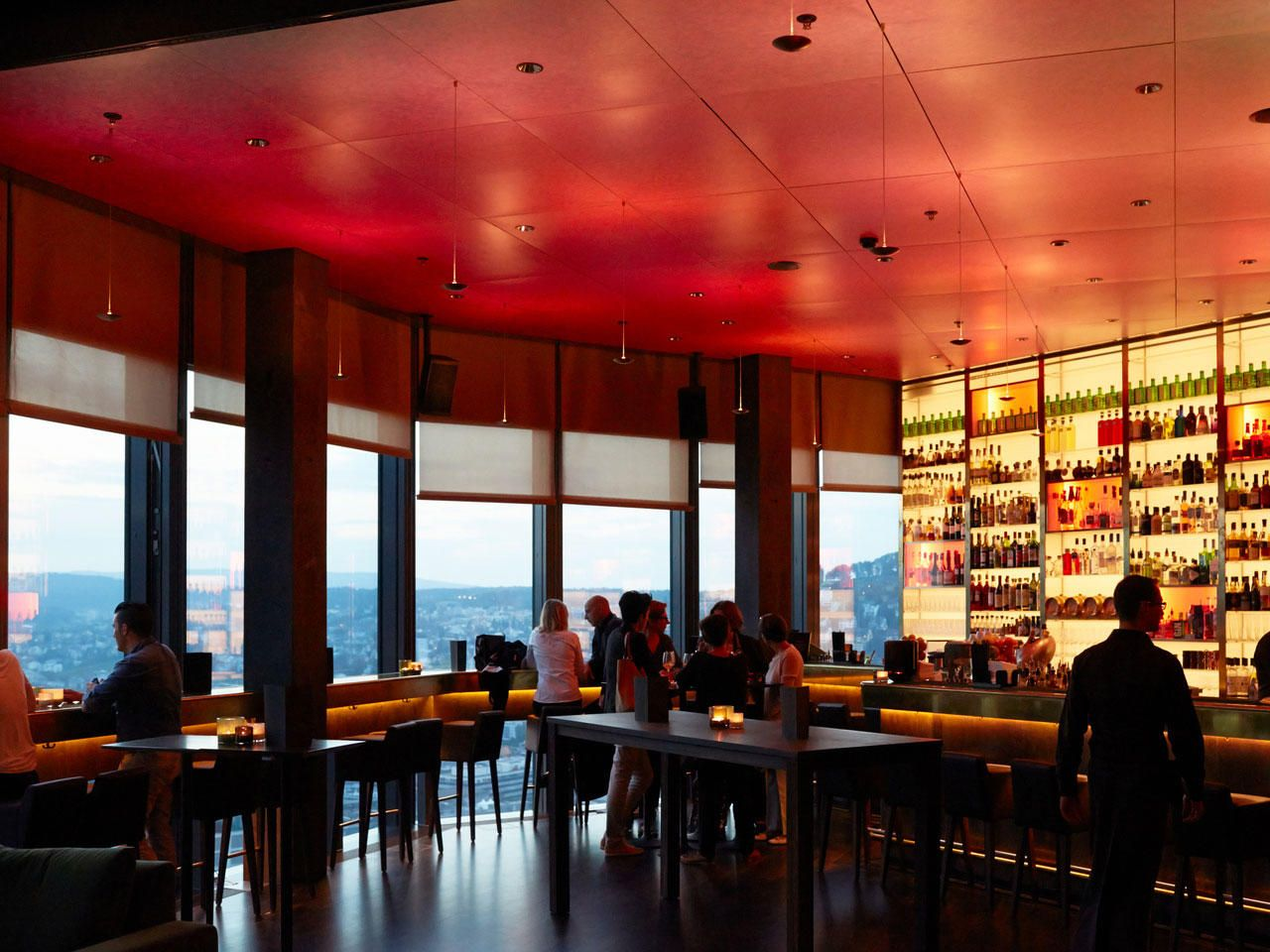 Clouds Bar & Bistro Rooftop restaurant