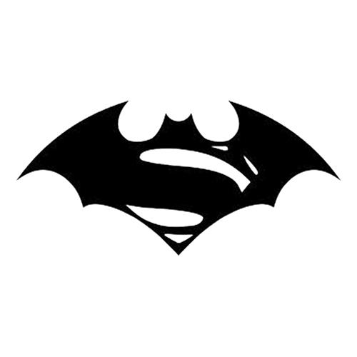 Unique Batman Vs Superman Bedroom Ideas That Rock: Superman Vs Batman Die Cut Vinyl Decal PV735