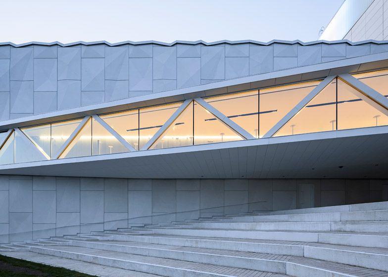 ALA designs faceted facade for Kuopio City Theatre extension