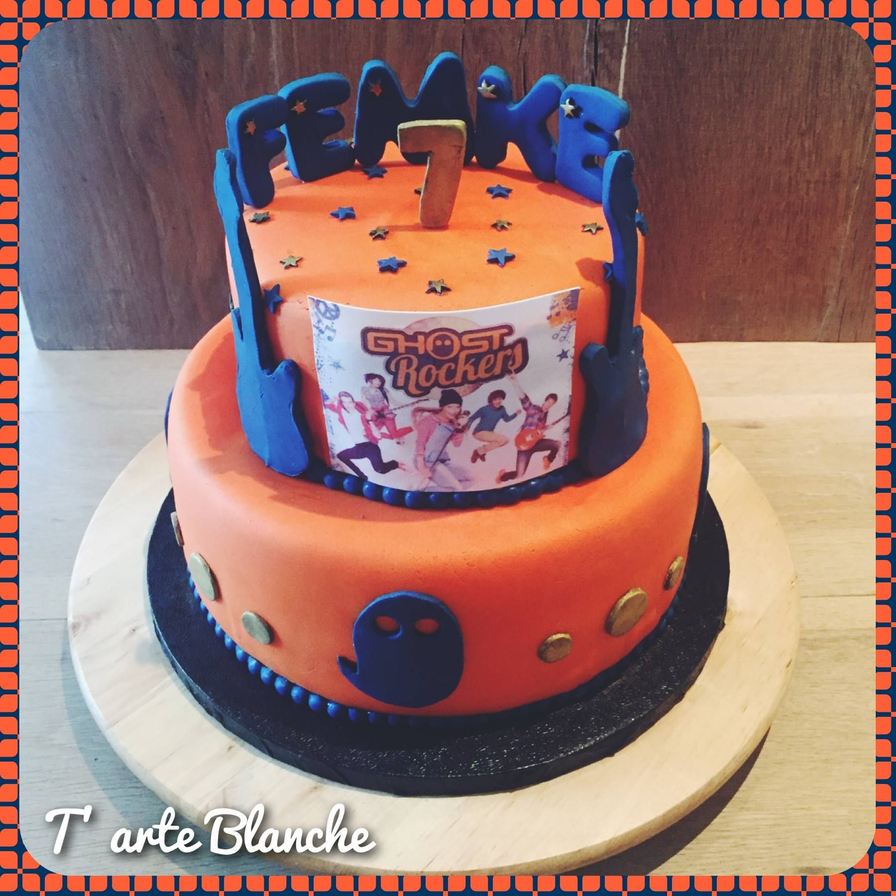 Ghost Rockers taart Ghost Rockers cake  Cakes for kids in