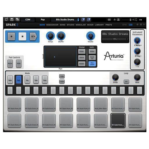 arturia spark 2 virtual drum machine download drum machine drums and products. Black Bedroom Furniture Sets. Home Design Ideas