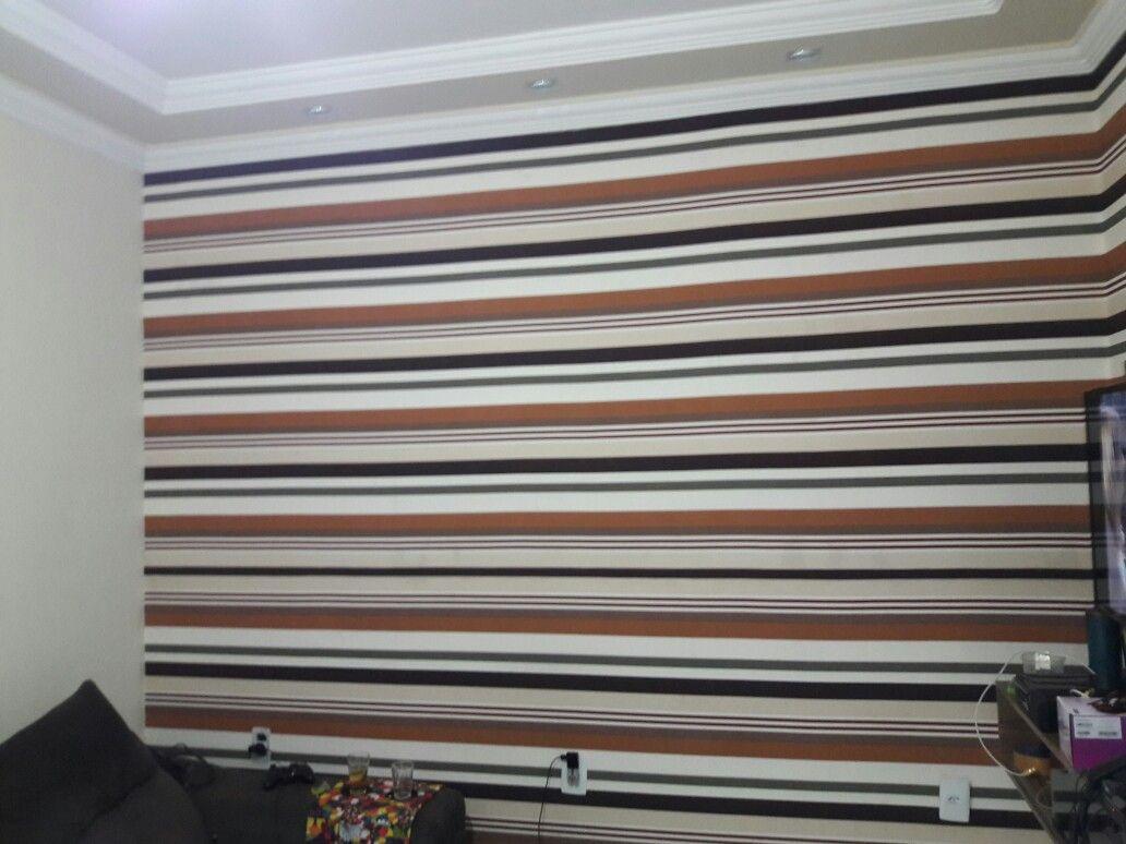 Tecido de parede sala