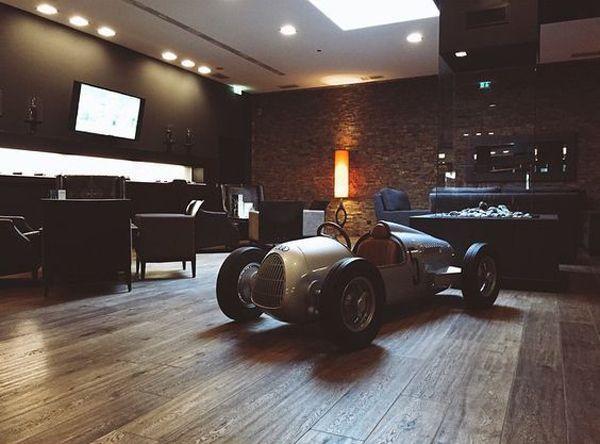 20 Coolest Car Garage Ideas For Man Cave #mancavegarage