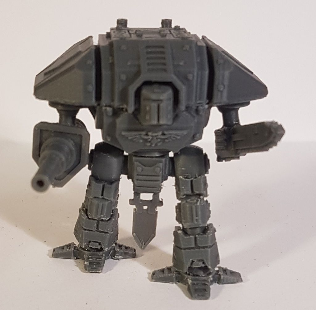 Adeptus Titanicus Lucius Knight by HighCommand - Thingiverse