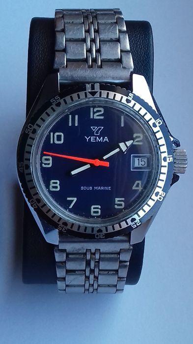 c877c784d80 Atualmente nos leilões da  Catawiki  Yema - Diver Watch 4 ATM - Homem -