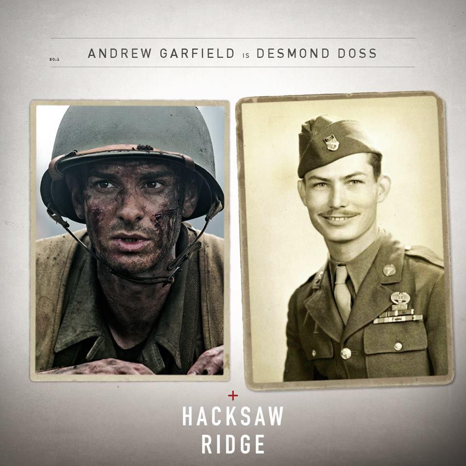 See Andrew Garfield as American war hero Desmond Doss in # ...