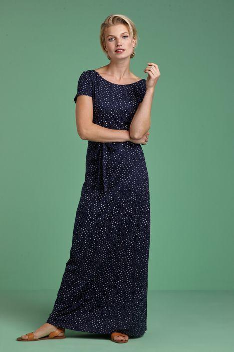 Sally Maxi Dress Little Dots | Maxi kleider, Kleid mit ...