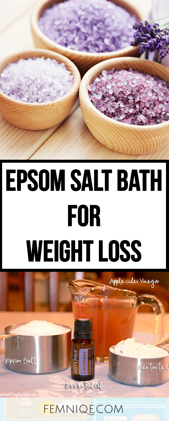 Epsom Salt Weight Loss Drinking : epsom, weight, drinking, Holistic
