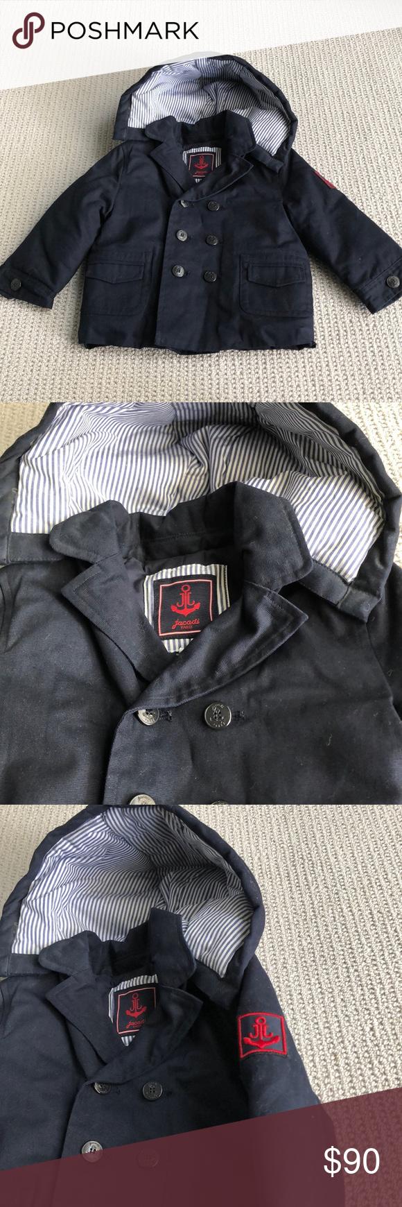 Navy blue Jacadi Paris jacket. Bought in Hong Kong for 180