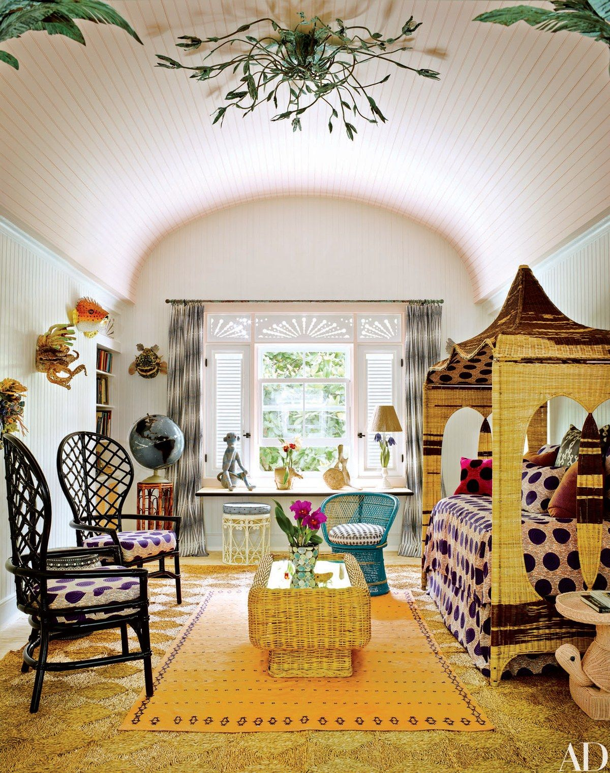 Wonderful Luxe Hotel Tour: Playa Grande Beach Club, Dominican Republic: A Ceiling  Light Designed By Kemble Interiors Oversees The Childrenu0027s Playroom; The  Furniture ...