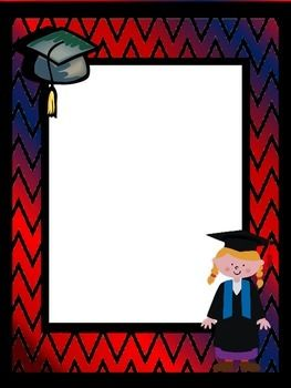 Background Pages ~ Graduation   Clip art, Activities and ...  Background Page...