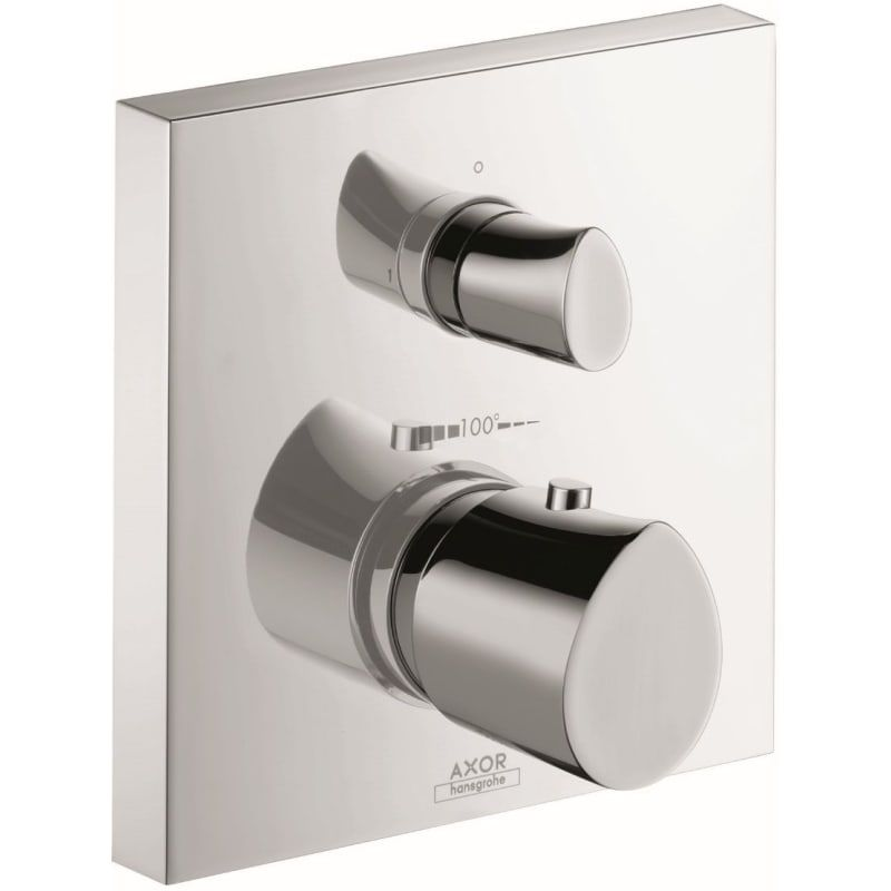 Axor 12715 Starck Organic Thermostatic Valve Trim With Integrated