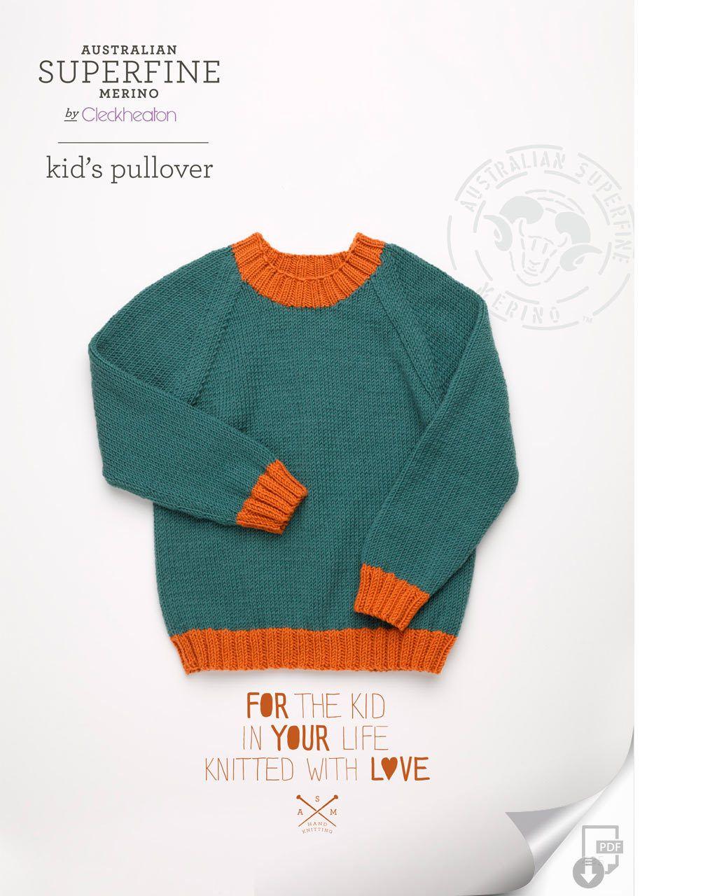 Cleckheaton Superfine - FREE Kids Pullover, $0.00 (http://www.cleckheatonsuperfine.com.au/free-kids-pullover/)