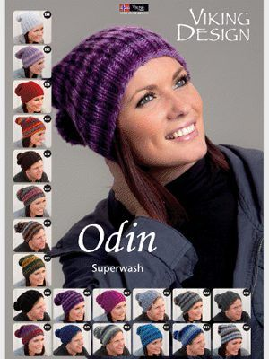 FREE Viking Odin Ribbed hat pattern | Punto | Pinterest