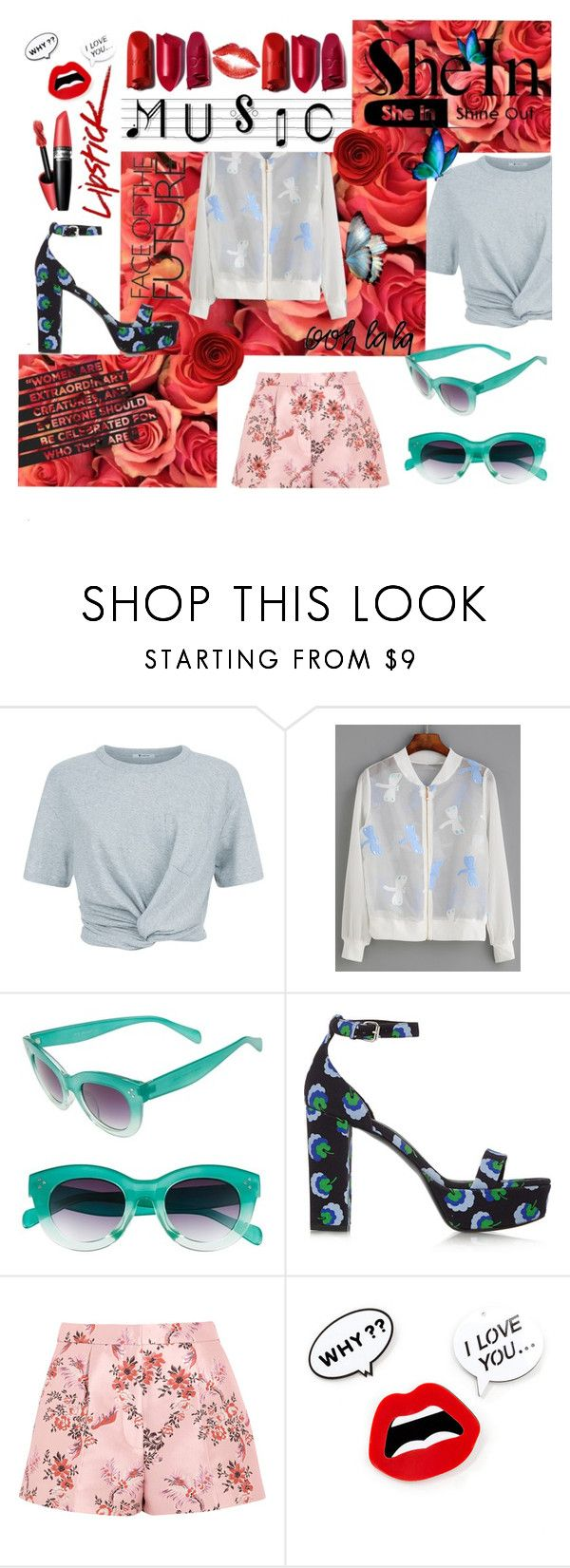 """""""#AnotherStoryToTell"""" by juromi ❤ liked on Polyvore featuring T By Alexander Wang, WithChic, A.J. Morgan and STELLA McCARTNEY"""