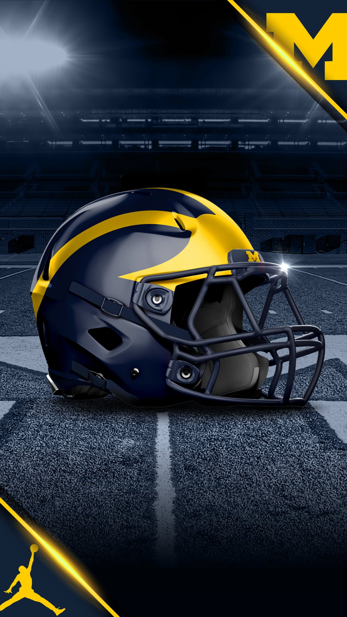 Pin By Amanda On Michigan Football Michigan Wolverines Football Michigan Football Helmet Wolverines Football