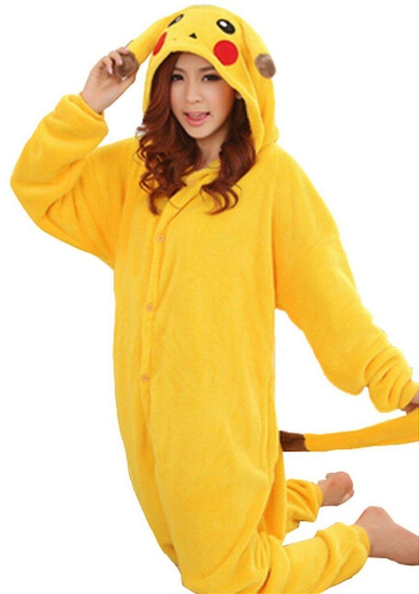 design de qualité 7527d 887e9 Amazon.com: WOWcosplay Pikachu Onesie Kigurumi Pajamas ...
